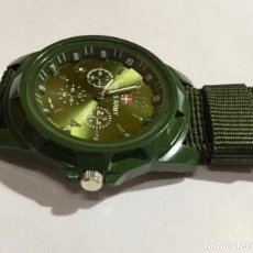 Relojes: RELOJ DE QUARTZ TIPO MILITAR .SEGUNDERO. 42 M/M.Ø. Lote 147138214