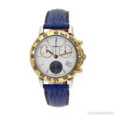 Relojes: CRIS CHARLES CRONÓGRAFO CHAPADO ORO RELOJ PARA CABALLERO. Lote 147381482