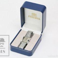 Relojes: RELOJ DE CUARZO FESTINA - CORREA DE ESLABONES - 30 METERS - MODELO 8949 - CAJA ORIGINAL. Lote 147462226