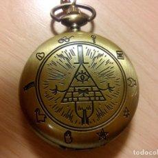 Relojes: RELOJ ILUMINATY MASONERIA. Lote 147471470