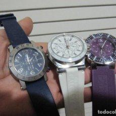 Relojes: LOTE 3 RELOJES CALGARY NECESITAN PILAS BUEN ESTADO. Lote 147509118