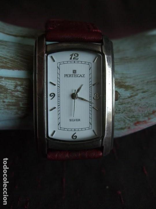 Relojes: RELOJ PULSERA PERTEGAZ, PLATA - Foto 5 - 147699362