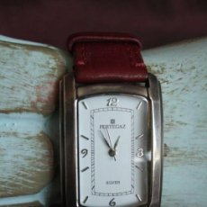 Relojes: RELOJ PULSERA PERTEGAZ, PLATA. Lote 147699362