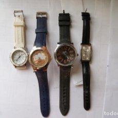 Relojes: LOTE DE 4 RELOJES CUARZO SIN COMPROBAR BRENATT Q4. Lote 147886450