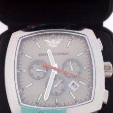 Relojes: RELOJ EMPORIO ARMANI CHRONOGRAPH EN SU ESTUCHE NUEVO. Lote 148224681