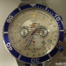Relojes: RELOJ CAUNY CONFEDERACION ESPAÑOLA DE POLICIA XII ANIVERSARIO EDICION LIMITADA. Lote 148281986