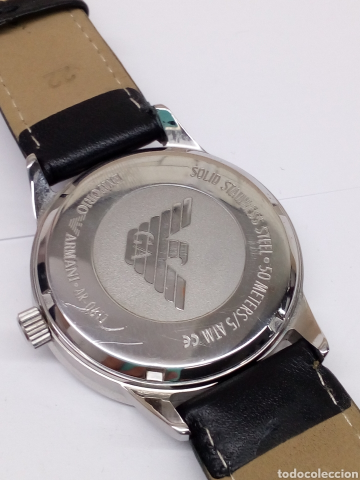 1372ff14644a Reloj emporio armani como nuevo modelo clásico - Vendido en Subasta ...