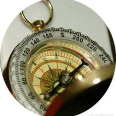 Relojes: BRUJULA FORMATO RELOJ BOLSILLO DE PRECISION BAÑADA EN ACEITE.. Lote 148343234
