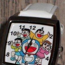 Relojes: RELOJ DORAEMON (COLOR BLANCO). Lote 148703110