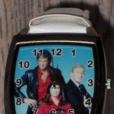 Relojes: RELOJ EL COCHE FANTASTICO (KNIGHT RIDER) (MODEL 2) (COLOR BLANCO). Lote 148703302