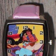 Relojes: RELOJ ALADDIN (COLOR ROSA). Lote 148703570