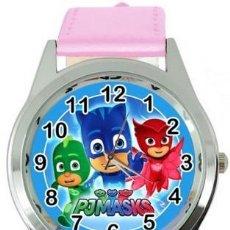 Relojes: RELOJ PJ MASKS (COLOR ROSA). Lote 148765190