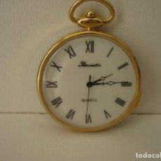 Relojes: RELOJ DE BOLSILLO QUARTZ MARCA THERMIDOR NUMEROS ROMANO. Lote 148777254