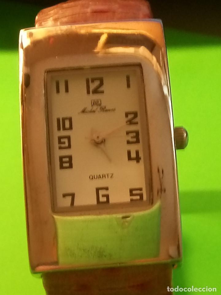 Relojes: RELOJ DE QUARTZ MICHEL RONEE. BATERIA NUEVA. PERFECTO. DESCRIPCION Y FOTOS. - Foto 10 - 149107498