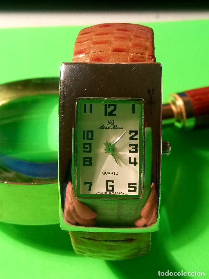 RELOJ DE QUARTZ MICHEL RONEE. BATERIA NUEVA. PERFECTO. DESCRIPCION Y FOTOS. (Relojes - Relojes Actuales - Otros)