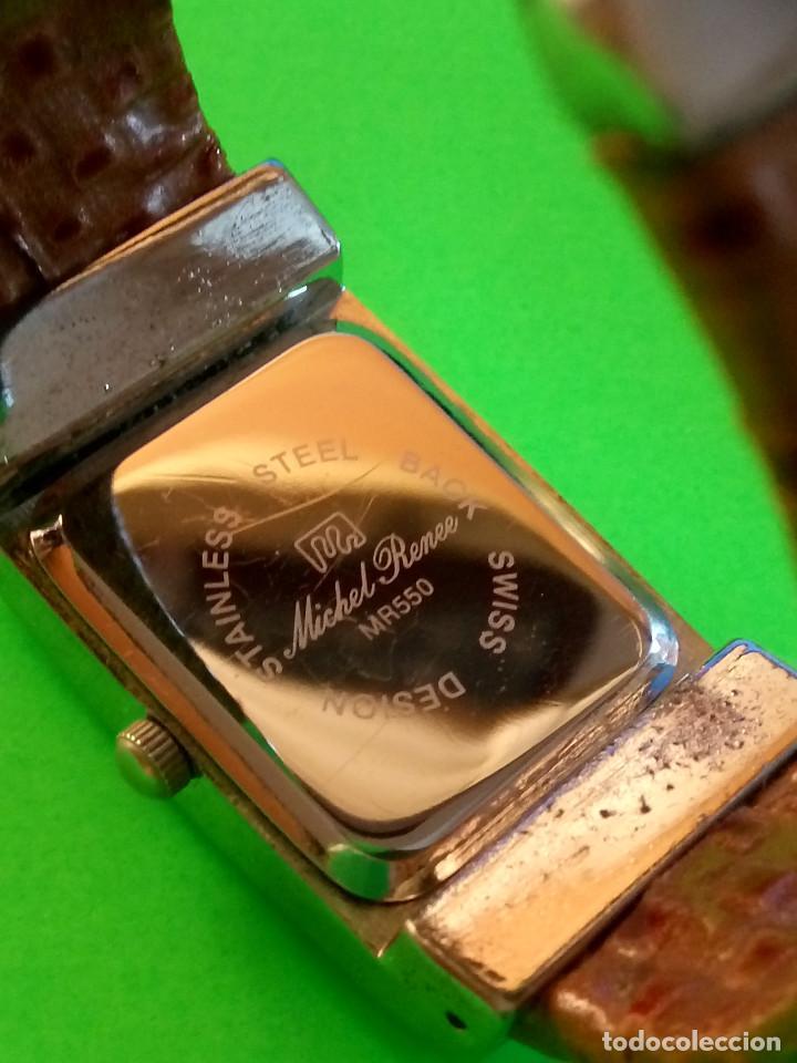 Relojes: RELOJ DE QUARTZ MICHEL RONEE. BATERIA NUEVA. PERFECTO. DESCRIPCION Y FOTOS. - Foto 6 - 149107498