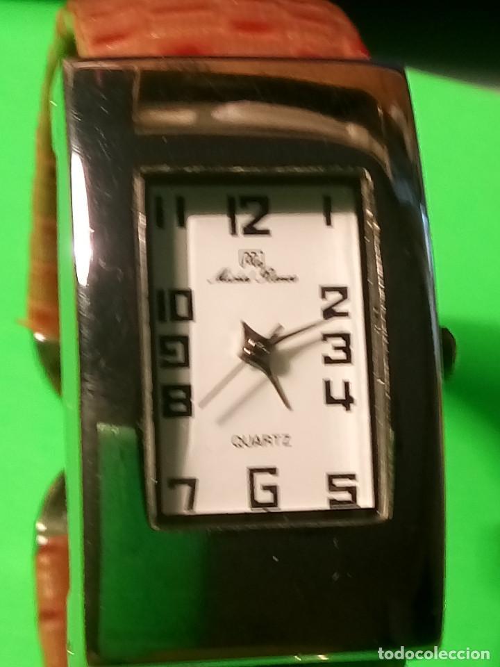 Relojes: RELOJ DE QUARTZ MICHEL RONEE. BATERIA NUEVA. PERFECTO. DESCRIPCION Y FOTOS. - Foto 9 - 149107498