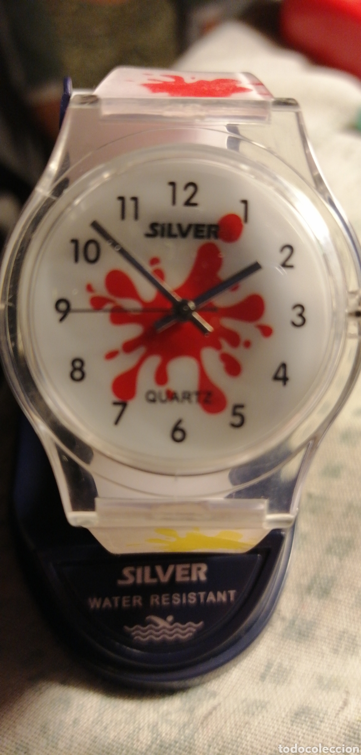 Relojes: RELOJ INFANTIL MARCA SILVER WATER RESISTANT - Foto 2 - 149383905