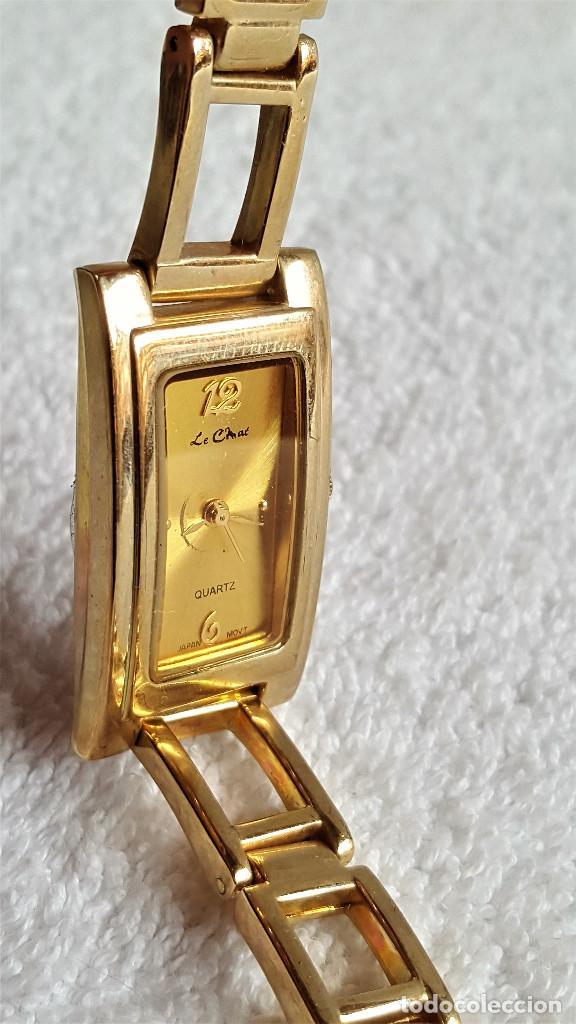 Relojes: BONITO RELOJ MUJER EN METAL QUARTZ - 18.CM LARGO - ESFERA 23 X 12.MM - Foto 10 - 149524566