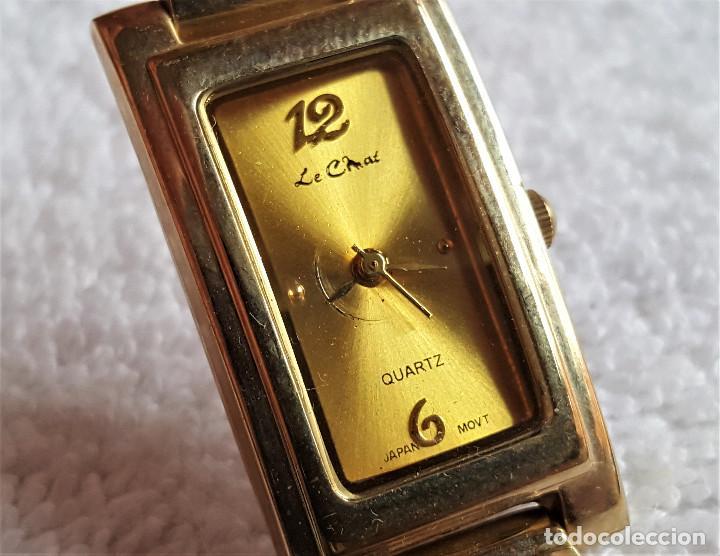 BONITO RELOJ MUJER EN METAL QUARTZ - 18.CM LARGO - ESFERA 23 X 12.MM (Relojes - Relojes Actuales - Otros)