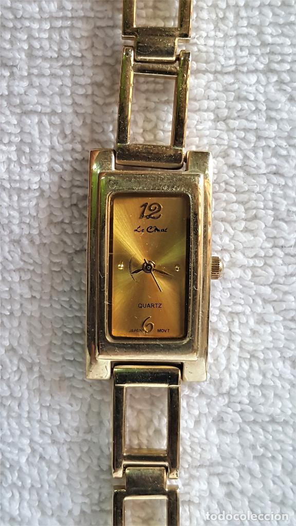 Relojes: BONITO RELOJ MUJER EN METAL QUARTZ - 18.CM LARGO - ESFERA 23 X 12.MM - Foto 2 - 149524566