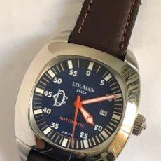 Relojes: RELOJ LOCMAN ITALY 25JEWELS AUTOMATIC CALENDAR SWISS MADE. Lote 149644898