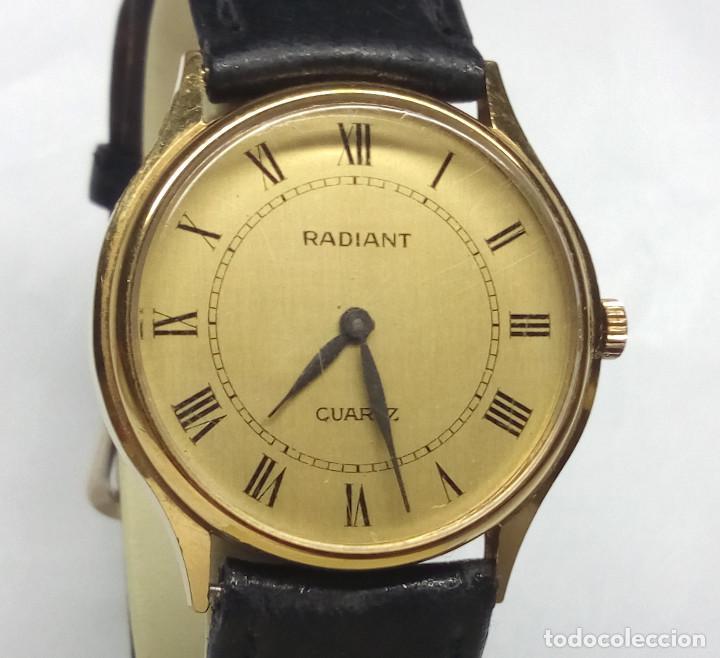 RELOJ RADIANT DE CUARZO - CAJA 32 MM - FUNCIONANDO (Relojes - Relojes Actuales - Otros)