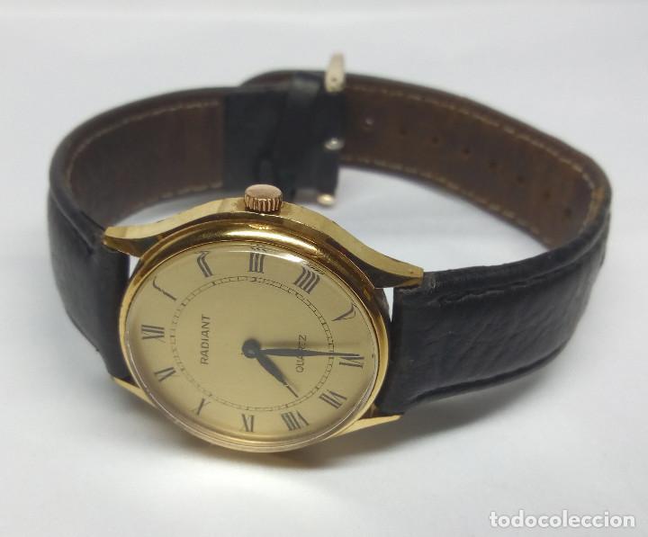 Relojes: RELOJ RADIANT DE CUARZO - CAJA 32 mm - FUNCIONANDO - Foto 4 - 150272946