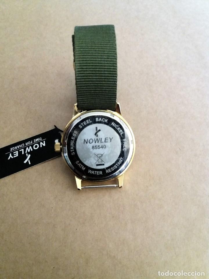 Relojes: MAGNIFICO RELOJ NOWLEY MEDIDA 40 MM. NUEVO A ESTRENAR - Foto 5 - 150788814