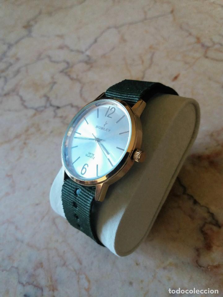 Relojes: MAGNIFICO RELOJ NOWLEY MEDIDA 40 MM. NUEVO A ESTRENAR - Foto 6 - 150788814