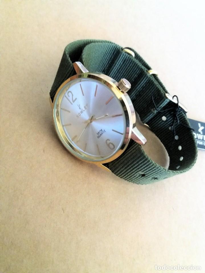 Relojes: MAGNIFICO RELOJ NOWLEY MEDIDA 40 MM. NUEVO A ESTRENAR - Foto 8 - 150788814