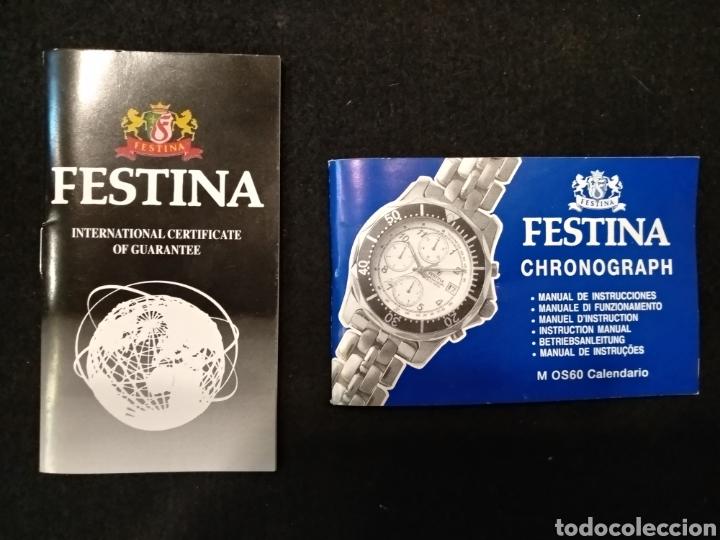 Relojes: Reloj FESTINA CHRONOGRAPH, FUNCIONA - Foto 3 - 150988700