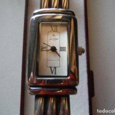 Relojes: RELOJ PULSERA PLATA LEY JUSTINA SEÑORA. Lote 151142710