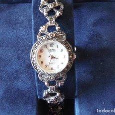 Relojes: RELOJ PULSERA PLATA LEY MICRO SEÑORA. Lote 151144538
