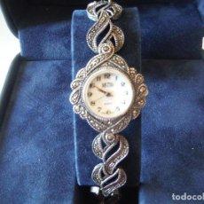Relojes: RELOJ PULSERA PLATA LEY MICRO SEÑORA. Lote 151144750