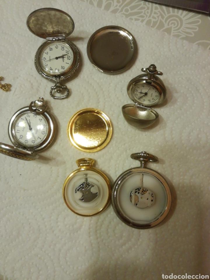 Relojes: RELOJES DE BOLSILLO DE PILA - Foto 3 - 151634140