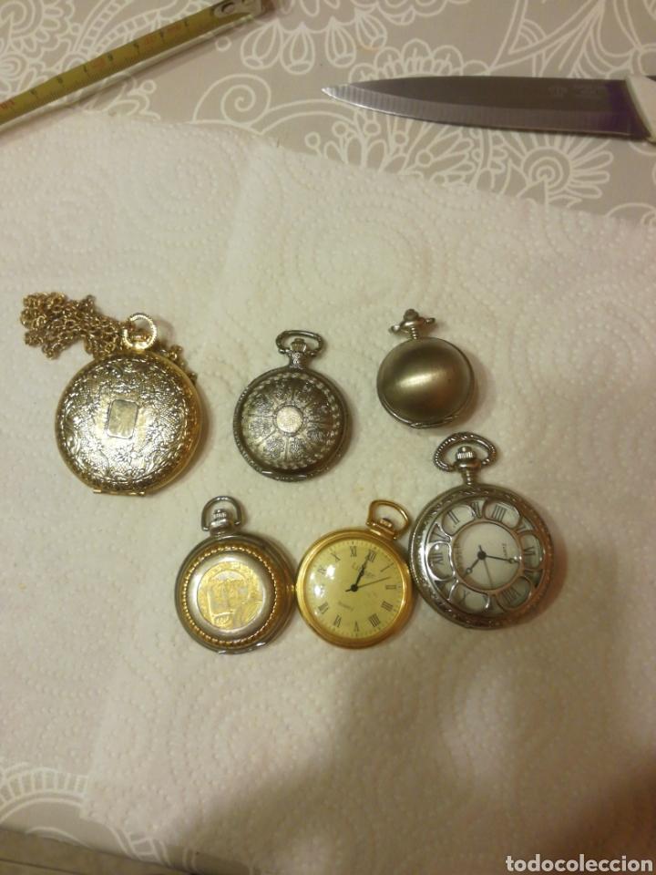 Relojes: RELOJES DE BOLSILLO DE PILA - Foto 6 - 151634140