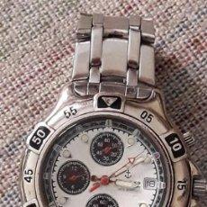 Relojes: RELOJ DE PULSERA CABALLERO CALYPSO CHRONOGRAPH 5ATM QUARTZ. Lote 151845174