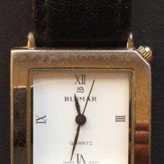 Relojes: RELOJ DE CUARZO DE LA MARCA BLUMAR, CON CORREA DE CUERO NEGRO. Lote 151927706