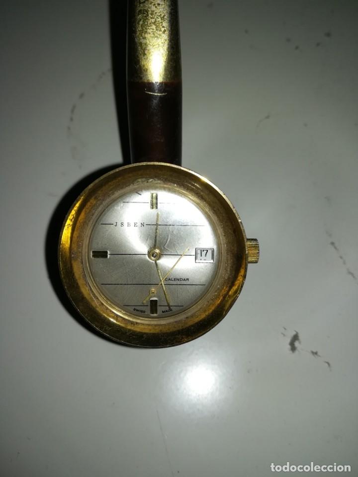 Relojes: Reloj en forma de pipa - Foto 3 - 152591130