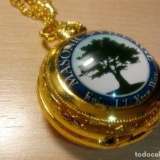 Relojes: RELOJ TEMATICO MASONERIA. Lote 163024677