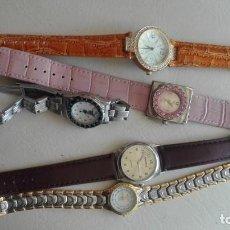 Relojes: 5 RELOJES SEÑORA NO FUNCIONAN. Lote 155250250