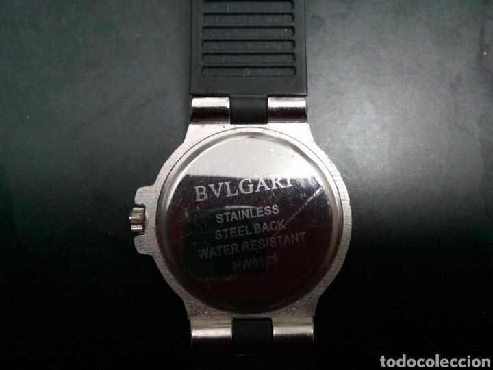 RELOJ BVLGARI FUNCIONANDO (Relojes - Relojes Actuales - Otros)
