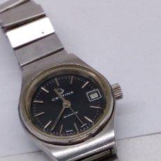 Relojes: RELOJ CERTINA QUARZ DE MUJER EN ACERO COMPLETO PARA COLECCIONISTAS VINTAGE. Lote 155355917