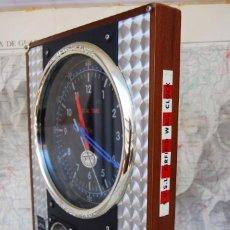 Relojes: RELOJ CONMEMORATIVO DE LA COLECCIÓN S.O.S.L. AIREFIELD WALL CLOCK A SPIRIT DE ST LOUIS. FUNCIONANDO. Lote 218569361