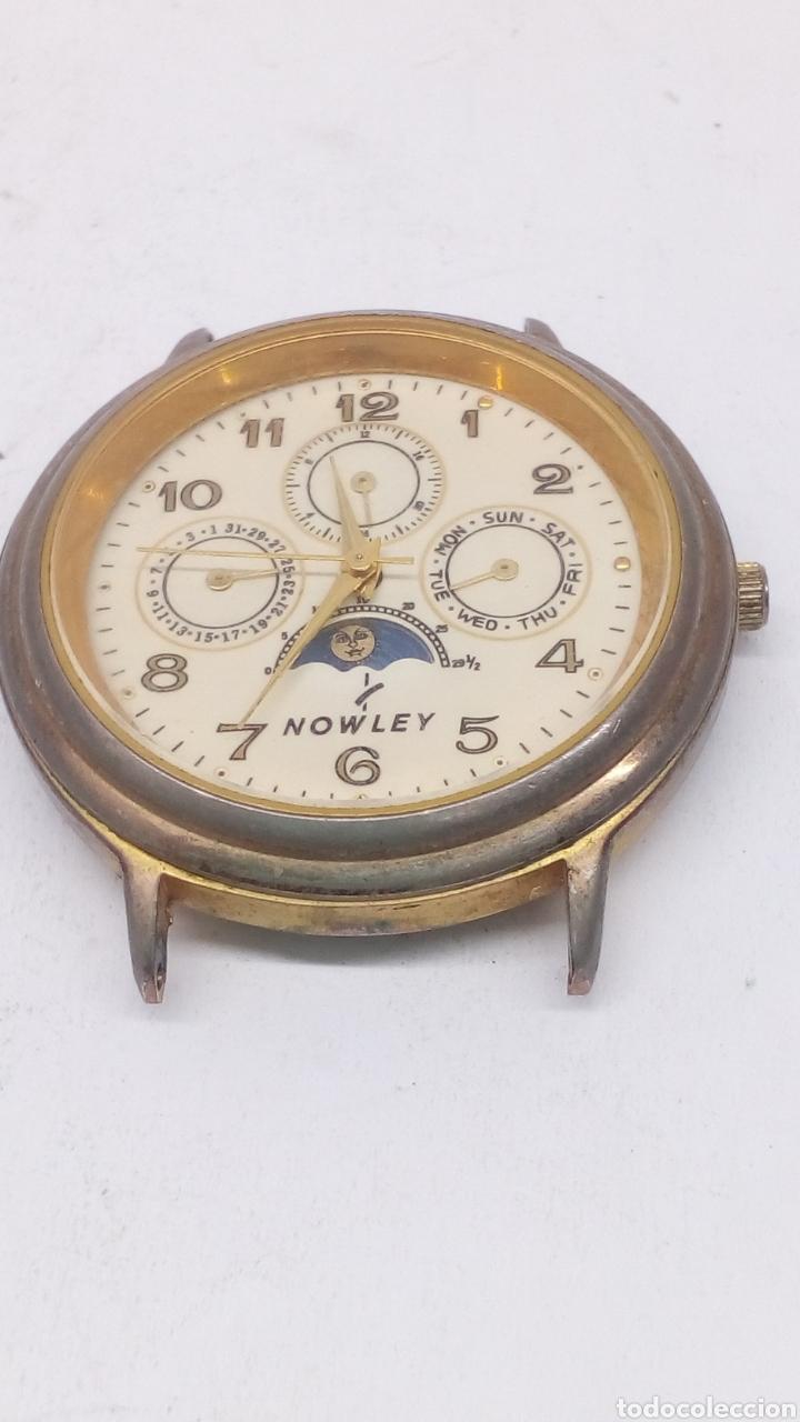 RELOJ NOWLEY QUARTZ PARA PIEZAS LUNAR O ARREGLAR (Relojes - Relojes Actuales - Otros)