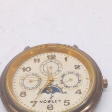 Relojes: RELOJ NOWLEY QUARTZ PARA PIEZAS LUNAR O ARREGLAR. Lote 182900221