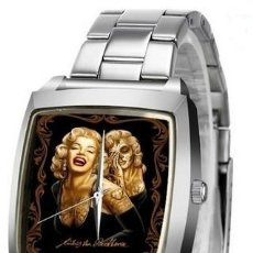Relojes: RELOJ MARILYN MONROE (CORREA DE METAL). Lote 156510458