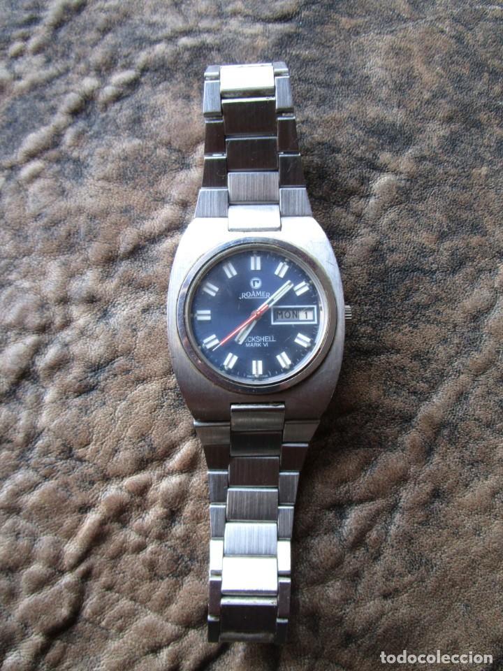 RELOJ ROAMER ROCKSHELL MARK VI 523 5120 614 AUTOMATIC SWISS MADE (Relojes - Relojes Actuales - Otros)
