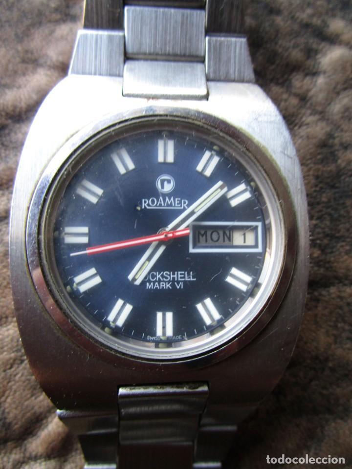 Relojes: reloj roamer rockshell mark VI 523 5120 614 automatic swiss made - Foto 2 - 156768770